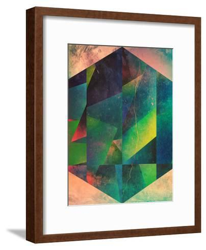 2 Hyx-Spires-Framed Art Print