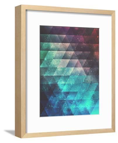 Brynk Drynk-Spires-Framed Art Print