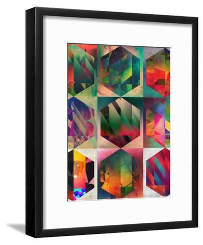 Hyxy-Spires-Framed Art Print
