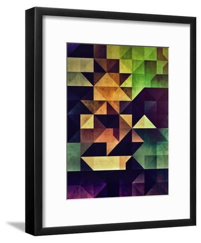 3Ym-Spires-Framed Art Print