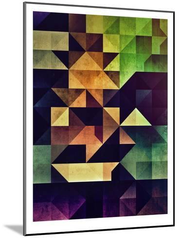 3Ym-Spires-Mounted Art Print