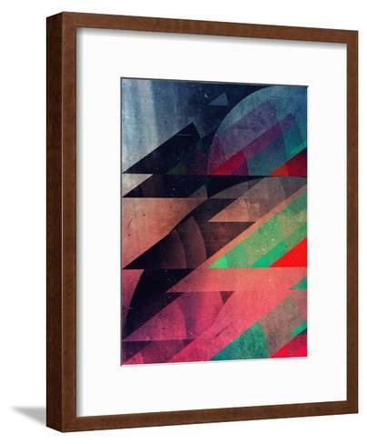 Clwwd Syrkkyt-Spires-Framed Art Print