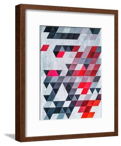 Hyyldh_Xhyymwy-Spires-Framed Art Print