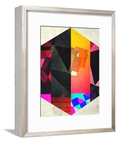 7 Hyx-Spires-Framed Art Print