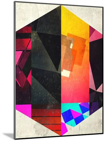 7 Hyx-Spires-Mounted Art Print