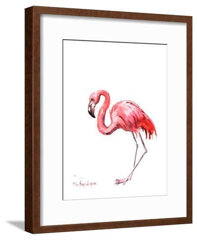 Flamingo Pink-Suren Nersisyan-Framed Art Print