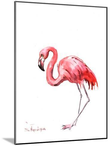 Flamingo Pink-Suren Nersisyan-Mounted Art Print