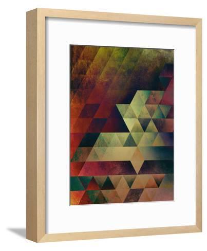 Lyyvvs Fyll-Spires-Framed Art Print