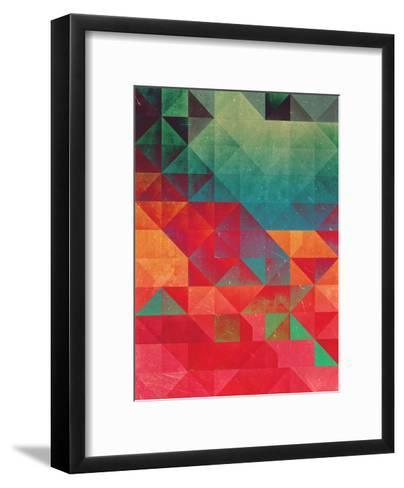 Myssyng Pyyce-Spires-Framed Art Print