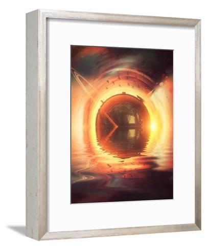Sytyrnyylya-Spires-Framed Art Print