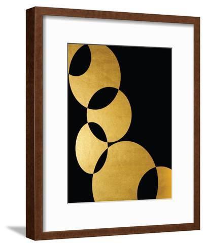 Orbital In Gold-Khristian Howell-Framed Art Print