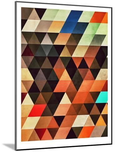 Trynxfyrmx-Spires-Mounted Art Print