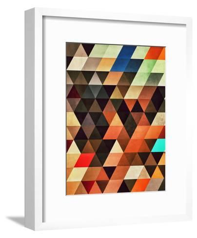 Trynxfyrmx-Spires-Framed Art Print