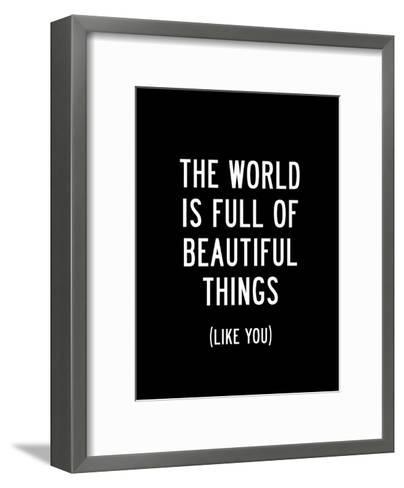 The World Is Full Of Beautiful Things-Brett Wilson-Framed Art Print