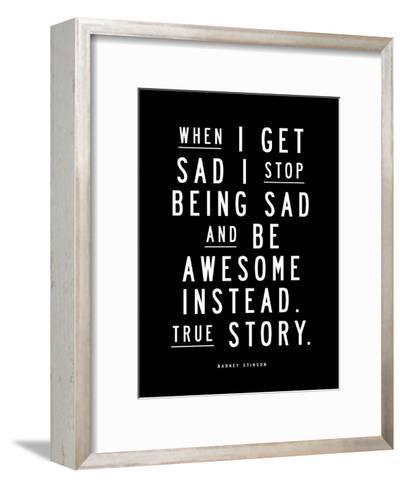 When I Get Sad-Brett Wilson-Framed Art Print