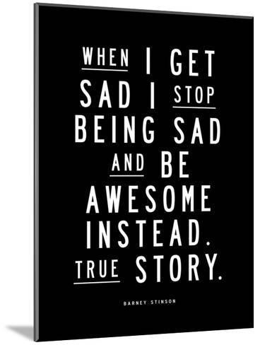 When I Get Sad-Brett Wilson-Mounted Art Print