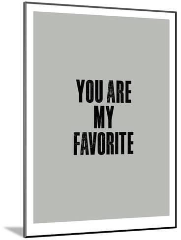 You Are My Favorite-Brett Wilson-Mounted Art Print