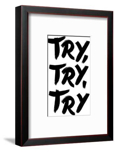 Try Try Try-Brett Wilson-Framed Art Print