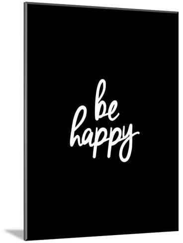 Be Happy-Brett Wilson-Mounted Art Print