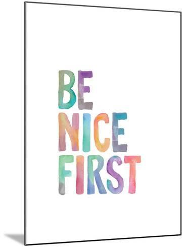 Be Nice First-Brett Wilson-Mounted Art Print