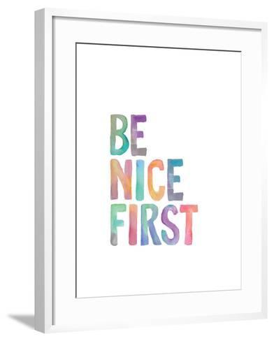 Be Nice First-Brett Wilson-Framed Art Print