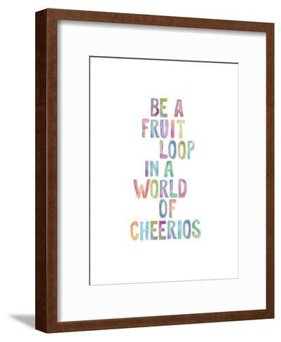 Be A Fruit Loop-Brett Wilson-Framed Art Print