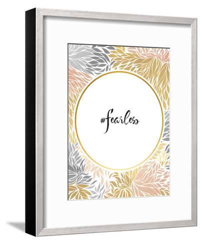 Fearless-Khristian Howell-Framed Art Print