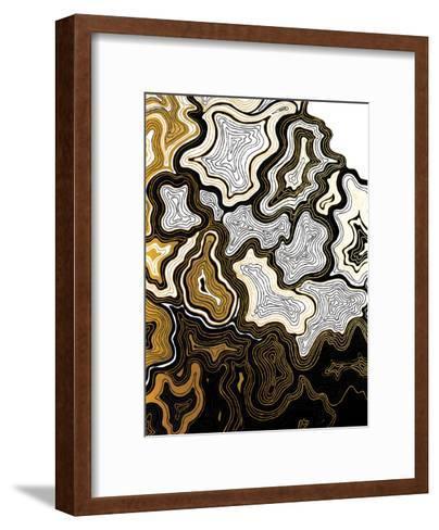 Sedona In Gold-Khristian Howell-Framed Art Print
