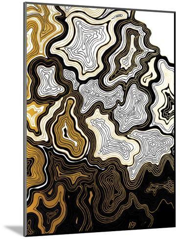 Sedona In Gold-Khristian Howell-Mounted Art Print