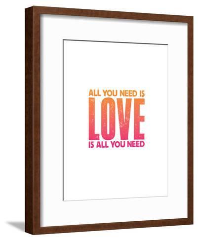All You Need Is Love Copy-Brett Wilson-Framed Art Print