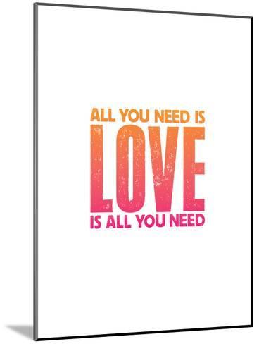 All You Need Is Love Copy-Brett Wilson-Mounted Art Print