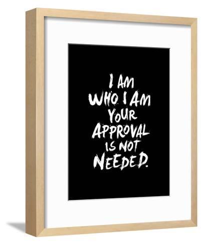 I Am Who I Am-Brett Wilson-Framed Art Print