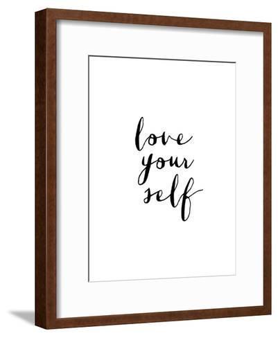 Love Your Self-Brett Wilson-Framed Art Print