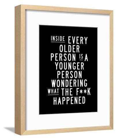 Inside Every Older Person-Brett Wilson-Framed Art Print
