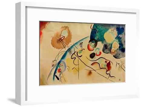 Composition with Trojka Theme, 1911/12-Wassily Kandinsky-Framed Art Print