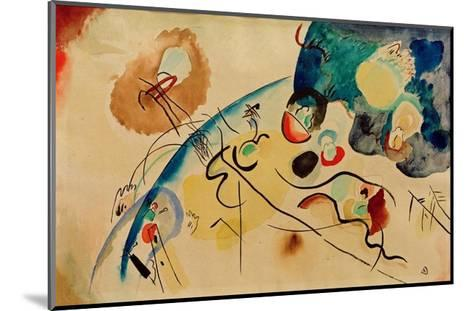 Composition with Trojka Theme, 1911/12-Wassily Kandinsky-Mounted Giclee Print