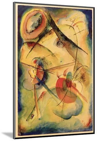 Composition Z, 1915-Wassily Kandinsky-Mounted Giclee Print