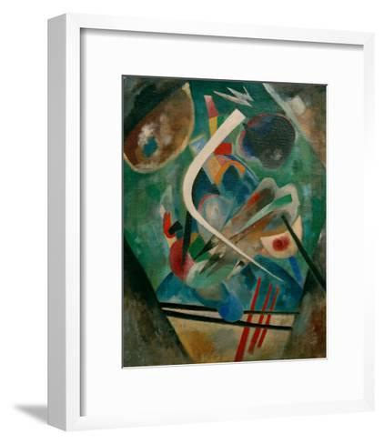 White Line, 1920-Wassily Kandinsky-Framed Art Print