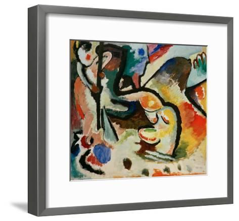 St George III, 1911-Wassily Kandinsky-Framed Art Print