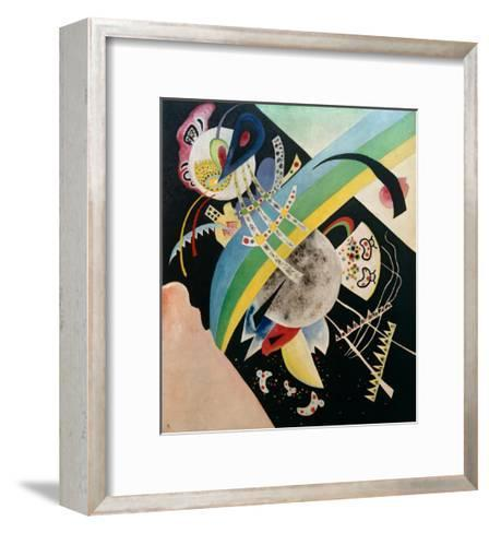Circles and Black, 1921-Wassily Kandinsky-Framed Art Print