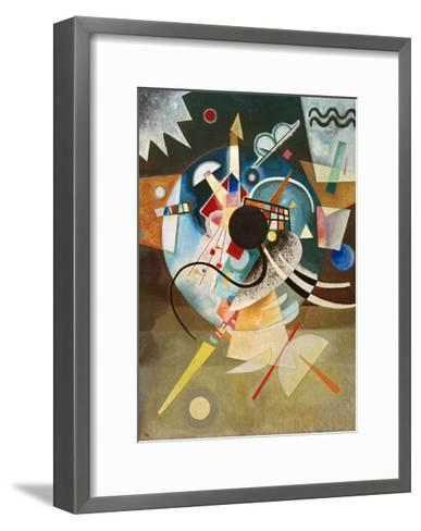 A Centre, 1924-Wassily Kandinsky-Framed Art Print