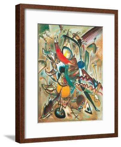 Painting with Spikes, Composition No. 2, 1919-Wassily Kandinsky-Framed Art Print
