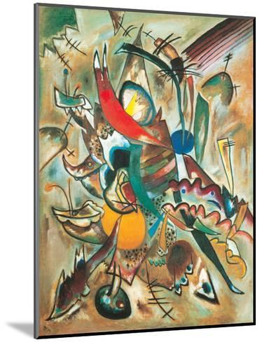 Painting with Spikes, Composition No. 2, 1919-Wassily Kandinsky-Mounted Giclee Print