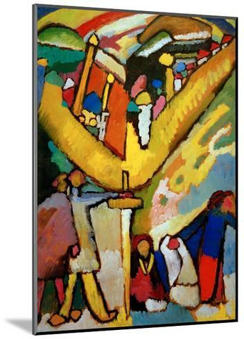 Study for Improvisation 8, 1910-Wassily Kandinsky-Mounted Giclee Print