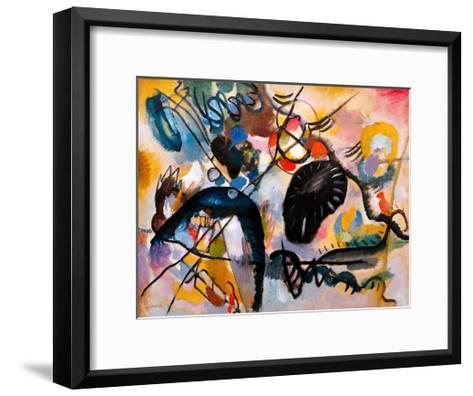 Black Patch, 1912-Wassily Kandinsky-Framed Art Print