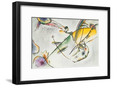 Composition B, 1916-Wassily Kandinsky-Framed Art Print