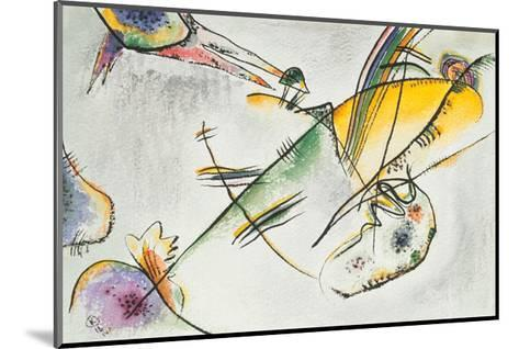 Composition B, 1916-Wassily Kandinsky-Mounted Giclee Print