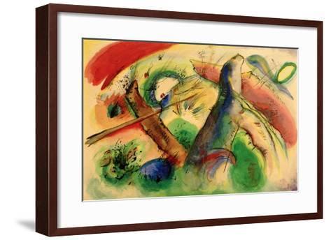 Composition E, 1916-Wassily Kandinsky-Framed Art Print