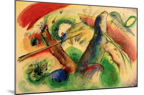 Composition E, 1916-Wassily Kandinsky-Mounted Giclee Print