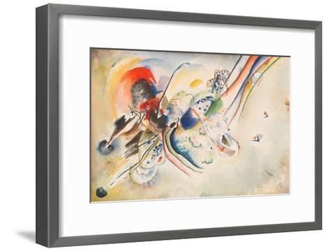 Study for Picture with Two Red Spots, 1916-Wassily Kandinsky-Framed Art Print